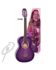Gypsy Rose 7/8 Elec. Guitar Pack-Purple