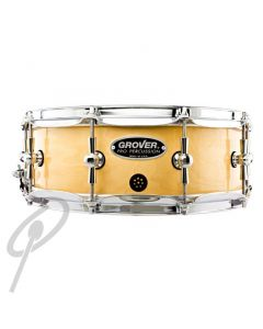 """Grover GSX 14x6.5"""" Symphonic Snare Drum - Natural"""