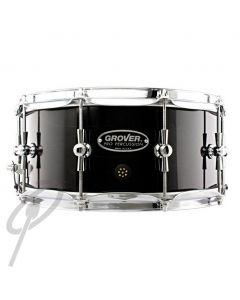 "Grover GSX 14x6.5"" Symphonic Snare Drum - Ebony"