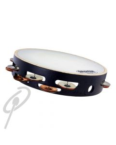 """Grover Tambourine10"""" Silver/Bronze Dbl Row Synthetic head"""
