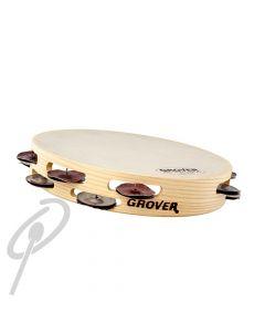 "Grover 10"" Hybrid Silver Bamtamweight Tambourine"
