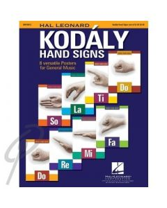 Kodaly Hand Signs Posters Set 8