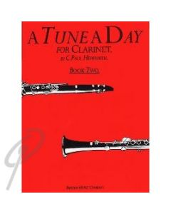 Tune a Day Book 2 for Clarinet