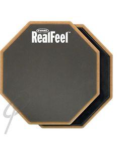 "Evans 12"" Real Feel Dual Tone Practice Pad"