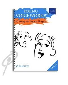 Young Voiceworks - 32 songs Book/CD