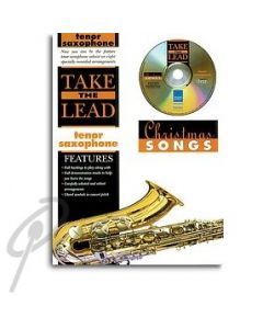 Take The Lead Christmas songs - Tenor Sax Book/Cd