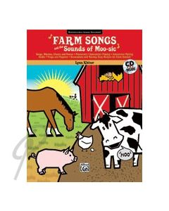 Farm Songs and the Sounds of Moo-sic Book/CD
