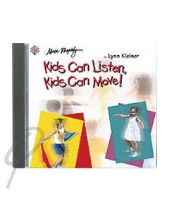 Kids Can Listen, Kids Can Move CD