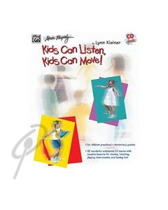 Kids Can Listen, Kids Can Move BK/CD