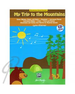 My Trip to the Mountains Book + CD