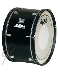 Lefima Bass Drum - 26 x 14inch Power Ultra Light Marching in Black