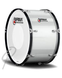 "Lefima 26x14"" Ultralight Bass Drum White"