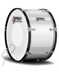 "Lefima 18x14"" Ultralight Bass Drum White"