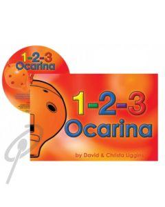 1-2-3 Ocarina Book w/CD