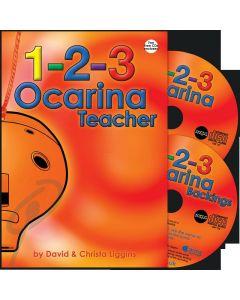 1-2-3 Ocarina Teacher w/2CDs