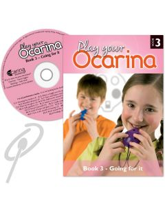 Play Your Ocarina Book 3 with CD