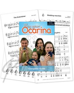 Play Your Ocarina- Complete Guide w/4 CD