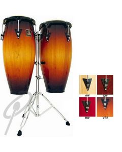 LP Congas - 11inch + 12inch Aspire including Double Stand