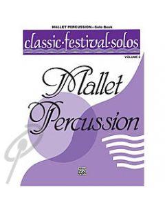 Classic Festival Solos - Mallet Solo Volume 2