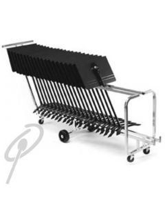 Manhasset Concert Stands Package 24 w/Trolley