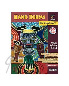 Hand Drums for Beginners Book/CD