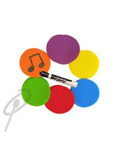 Music-Go-Rounds Blank Write-On Dots RB