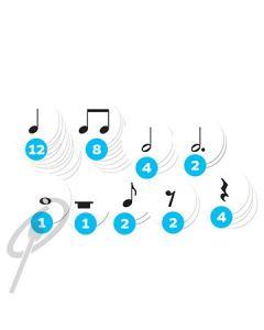 Music-Go-Rounds Rhythm Dots Simple Metre