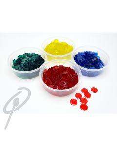 MIM Coloured Plastic Tokens- Tub of 300