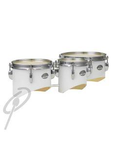 "Pearl Junior Marching Trio 6,8,10"" White w/harness"