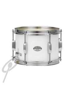 """Pearl 10 x 7"""" Junior Marching Snare White"""