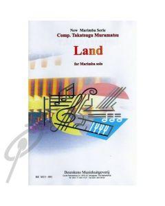 Land for solo marimba