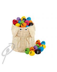 Nino 80 Egg Shakers in Elephant Basket