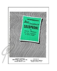 Jazz Conceptions Alto Sax Intermediate Studies