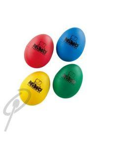 Nino Egg Shakers - Set'o' 4 B, GR, R & Y