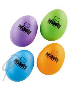 Nino Egg Shakers - Set'o'4 AU,GG,OR,SB