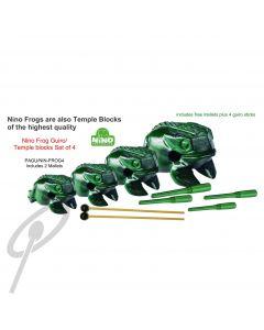 Nino Frog-Guiros / Temple Blocks - Set 4