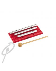 Nino Energy Chimes Set of 3 Red w/Beater