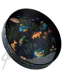 """Remo 22"""" Ocean Drum -Fish Graphic"""