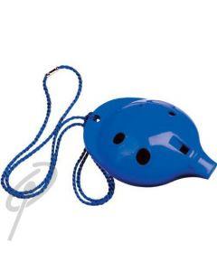 Oc Ocarina Single 4-HOLE Blue