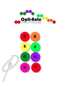 Opti-Note Music Magnets 30mm Pack 32