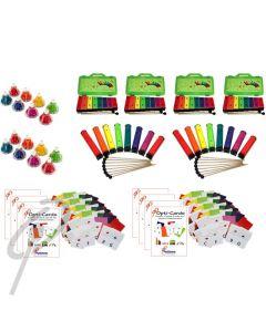 Optimum Colour Coded Classroom Set
