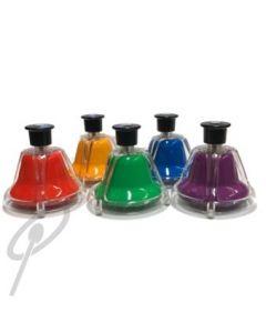Optimum Desk Bells 5 Note Chrom Colour-Coded
