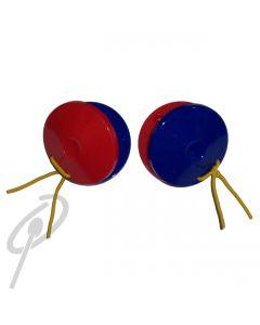 Optimum Plastic Castanets Red/Blue