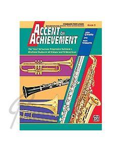 Accent on Achievement Baritone Saxophone Book 3