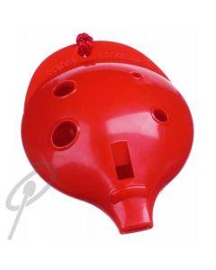 Oc Ocarina Single 4-HOLE- Red