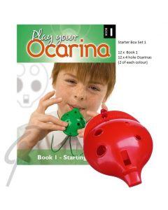 Oc Ocarina Rainbow Starter Box Set 1