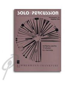 12 Etudes for solo marimba