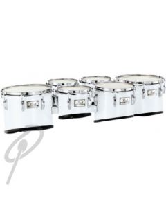 Pearl Tom - 6inch Championship Marching Tenor White