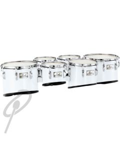 Pearl Tom - 8inch Championship Marching Tenor White