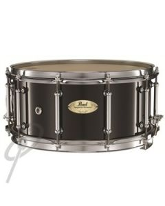 "Pearl 14 x 6.5"" Concert Maple Snare Drum Black"